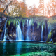 Amazing waterfall with pure blue water in Plitvice lakes - PhotoDune Item for Sale