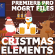 Cartoon Christmas Elements And Transitions - VideoHive Item for Sale