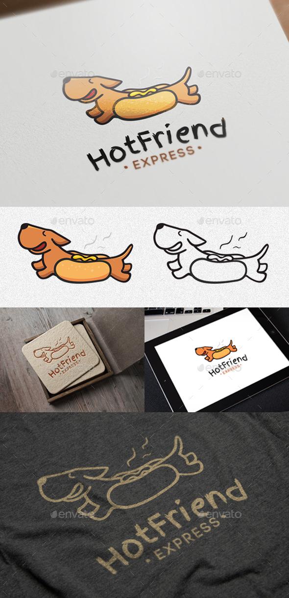 Hot Friend - Animals Logo Templates