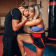 Free Download Female person on self defense training, knee kick Nulled