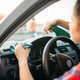 Free Download Female person polishes the dashboard of the car Nulled