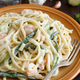 Lunguini with shrimps and zucchini - PhotoDune Item for Sale