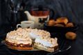 Fresh homemade delicious apple meringue cake - PhotoDune Item for Sale