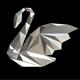 swan figure low poly - 3DOcean Item for Sale