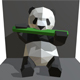 panda figure low poly - 3DOcean Item for Sale