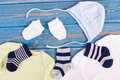 Apparel for newborn, extending family and expecting for baby concept - PhotoDune Item for Sale