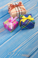 Wrapped colorful gifts for Christmas or other celebration - PhotoDune Item for Sale