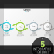 Modern Arrow Infographic Timeline (5 Items) - GraphicRiver Item for Sale