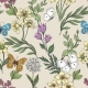 Wildflowers and Butterflies Background - GraphicRiver Item for Sale