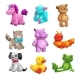 My First Friends. Funny Textile Stuffed Toys Set. - GraphicRiver Item for Sale