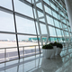 modern airport scene, view of the terminal window - PhotoDune Item for Sale
