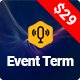 Event Term- Multiple Event Conference WordPress Theme - ThemeForest Item for Sale