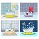 Bathtub Foam Banner Concept Set - GraphicRiver Item for Sale