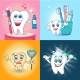 Toothbrush Banner Concept Set - GraphicRiver Item for Sale