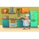 Chef Character Banner - GraphicRiver Item for Sale