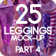 25 Leggings Mock-Up 2018 Part 4 - GraphicRiver Item for Sale