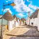 Trulli of Alberobello typical houses. Apulia, Italy. - PhotoDune Item for Sale