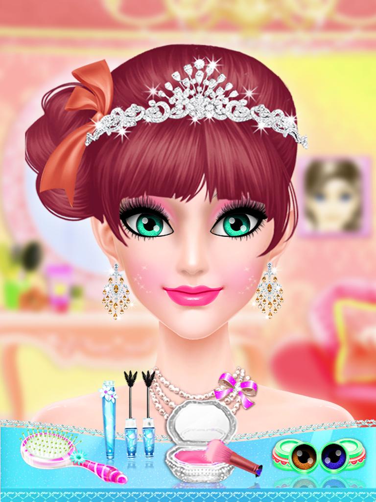 Royal Princess Makeover \u0026 Dressup Salon Games For Girls