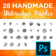 Free Download Photoshop Watercolour Brush Set Nulled