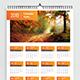 Calendar 2019 - GraphicRiver Item for Sale
