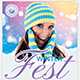 Winter Festival Flyer Template V3 - GraphicRiver Item for Sale