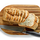 Free Download sliced bread on wooden cutting board Nulled