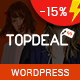 TopDeal - Multipurpose Marketplace WordPress Theme (Mobile Layouts Included) - ThemeForest Item for Sale