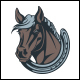 Horse Club Logo Template - GraphicRiver Item for Sale