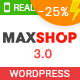 Maxshop   Multi-Purpose Responsive WooCommerce Theme (9+ Homepages & Mobile Layouts Ready) - ThemeForest Item for Sale