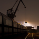 Free Download Coal Harbor Crane And Train At Night Nulled