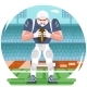 American Football Rugby Player - GraphicRiver Item for Sale