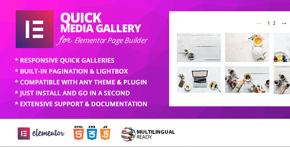 Quick Gallery Addon for Elementor Page Builder