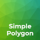 Simple Polygon Backgrounds - GraphicRiver Item for Sale