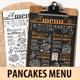 Pancakes Menu Template - GraphicRiver Item for Sale