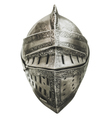 Isolated Medieval Knights Armour Helmet - PhotoDune Item for Sale