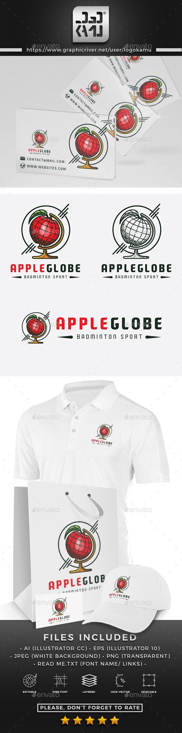 Apple Globe Logo - Symbols Logo Templates