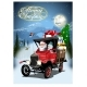 Vector Christmas Card with Cartoon Retro Christmas - GraphicRiver Item for Sale