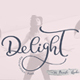 Calligraphy Wedding Decor Font Delight - GraphicRiver Item for Sale