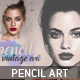 Pencil Vintage Art - GraphicRiver Item for Sale