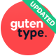 Gutentype | 100% Gutenberg WordPress Theme for Modern Blog - ThemeForest Item for Sale