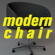 Modern Chair - Armchair - 3DOcean Item for Sale