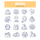 Wedding Doodle Icons - GraphicRiver Item for Sale