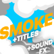 2DFX Smoke Elements And Titles - VideoHive Item for Sale