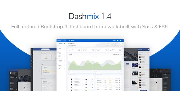Dashmix - Bootstrap 4 Admin Dashboard Template & Laravel Starter Kit