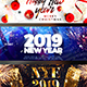 New Year Facebook Cover - GraphicRiver Item for Sale