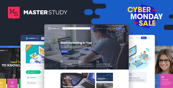 Masterstudy Education - LMS WordPress Theme for Education, eLearning and Online Courses