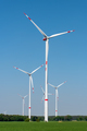 Wind turbines in a rural area - PhotoDune Item for Sale