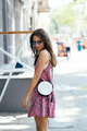 Girl posing for the camera with a female bag - PhotoDune Item for Sale