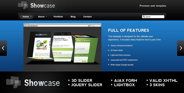 Free Download SHOWCASE Nulled Latest Version