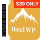 Hotel WordPress Theme | Hotel WP - ThemeForest Item for Sale